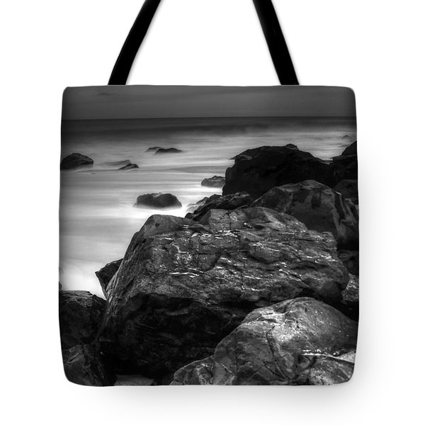 Jersey Shore At Night Tote Bag by Paul Ward
