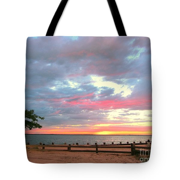 Jersey Summer  Tote Bag by Susan Carella