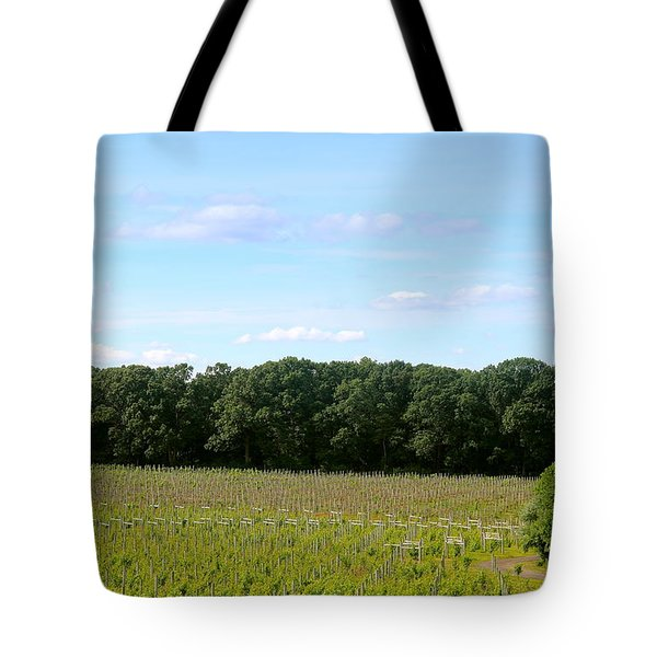 Jersey Vineyard Tote Bag
