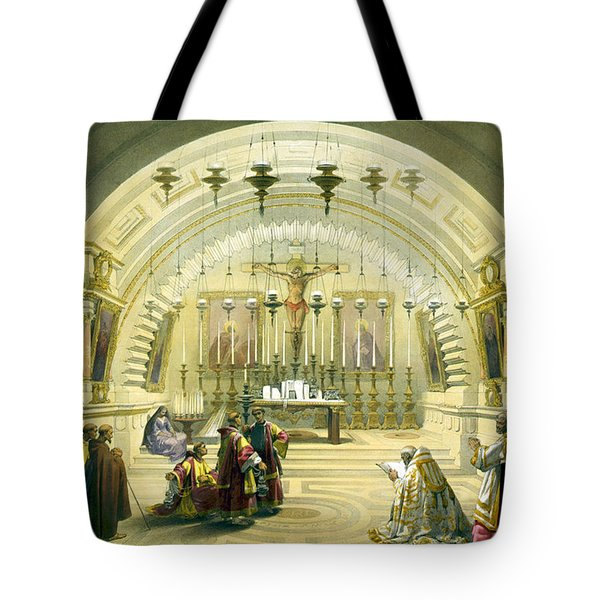 Jerusalem Calvery Tote Bag