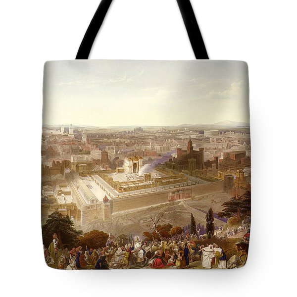 Jerusalem In Her Grandeur Tote Bag
