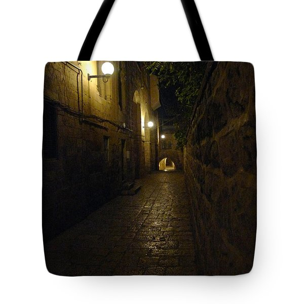 Tote Bag featuring the photograph Jerusalem Of Copper 2 by Dubi Roman