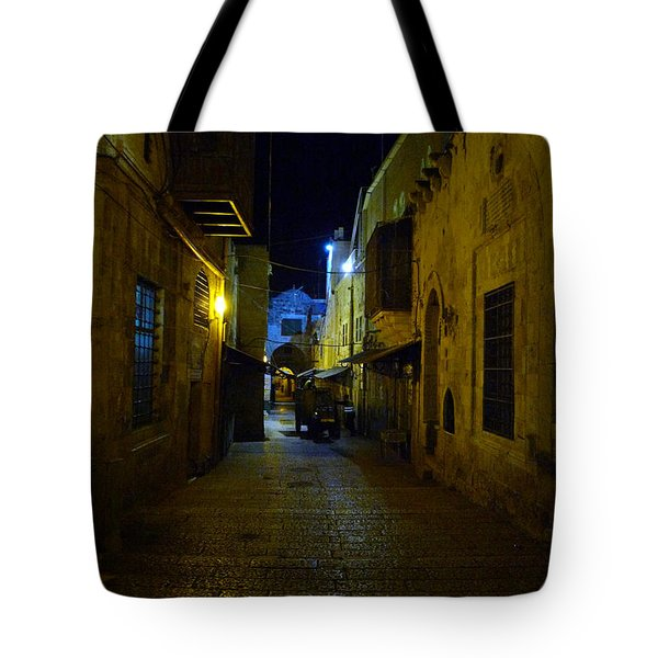 Tote Bag featuring the photograph Jerusalem Of Copper 3 by Dubi Roman