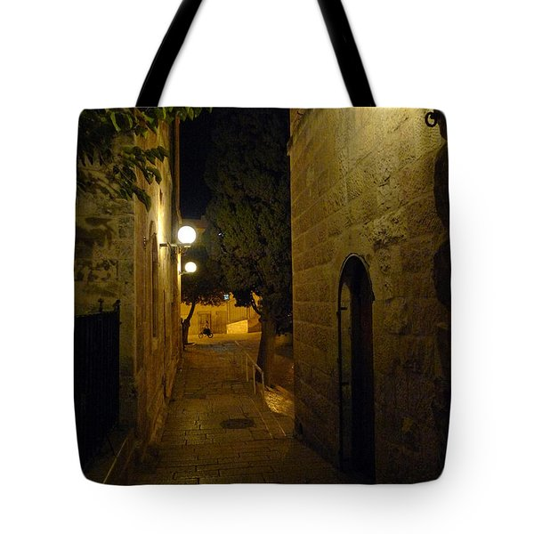 Tote Bag featuring the photograph Jerusalem Of Copper 4 by Dubi Roman