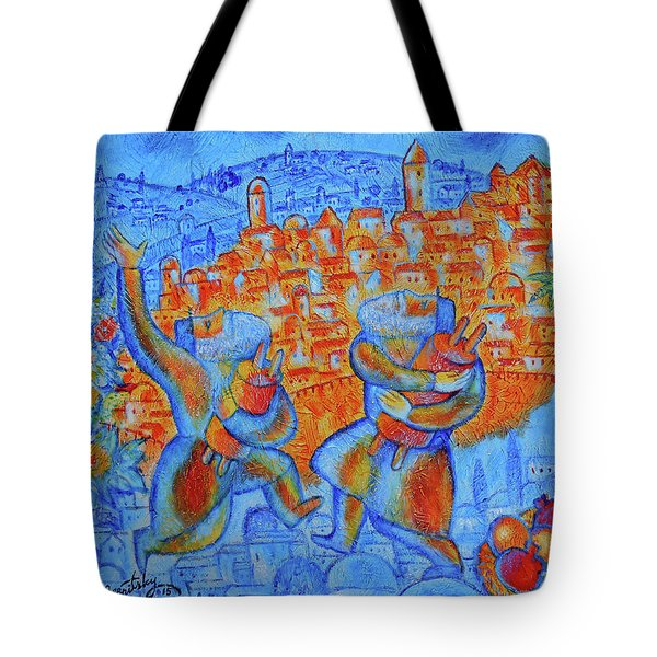 Jerusalem Of Gold Tote Bag