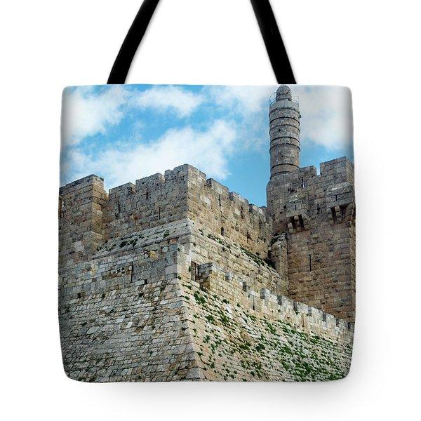 Jerusalem Old City 2 Tote Bag