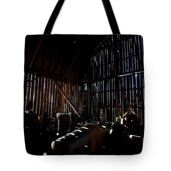 Jesse's In The Barn Tote Bag