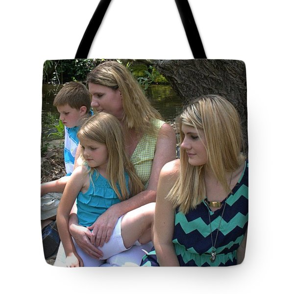 Jessica And Family Ll Tote Bag