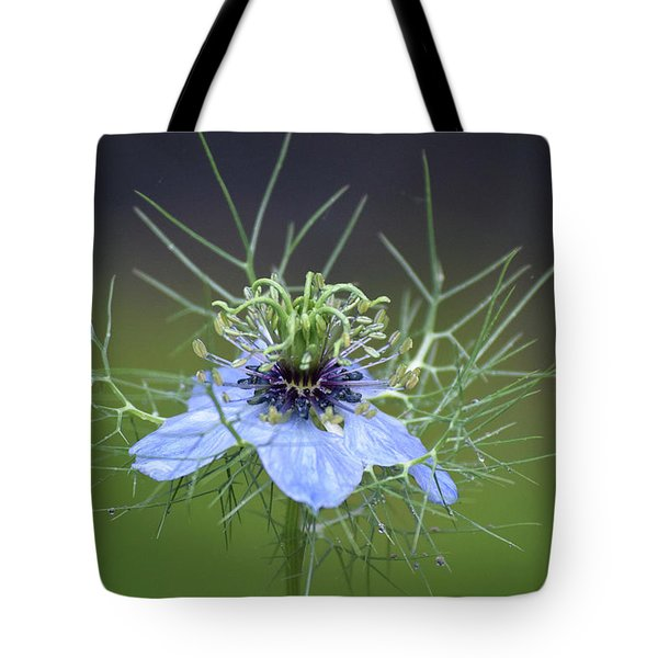 Jester's Hat Flower Tote Bag
