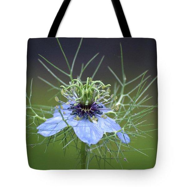 Jester's Hat Flower Tote Bag