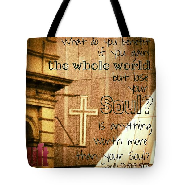 Jesus And His Disciples Left Galilee Tote Bag