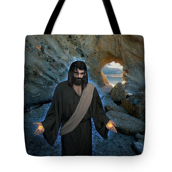 Jesus Christ- And Surely I Am With You Always Tote Bag