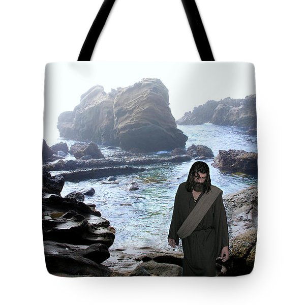Jesus Christ- Be Not Dismayed For I Am Your God Tote Bag