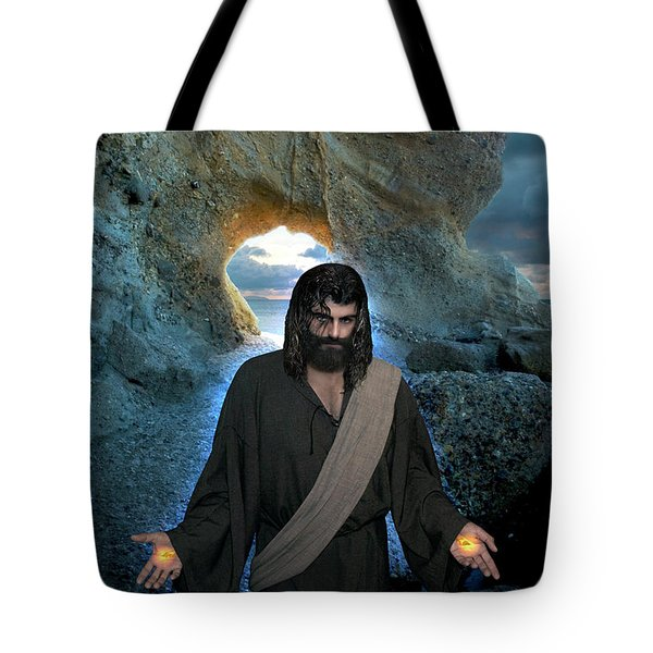 Jesus Christ- I Am With You Always Tote Bag