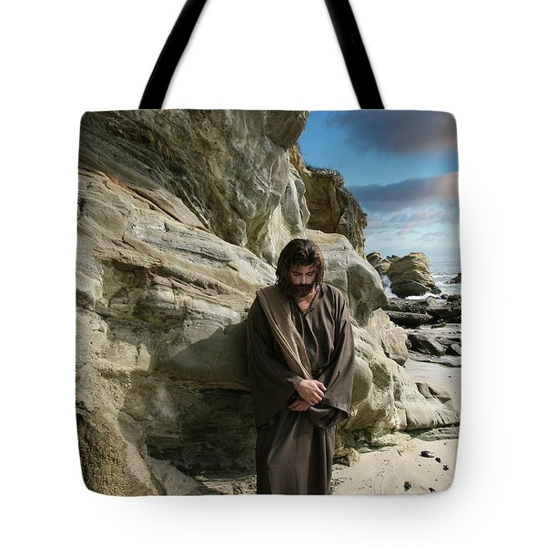 Jesus Christ- I Have Heard Your Prayer And Seen Your Tears I Will Heal You Tote Bag