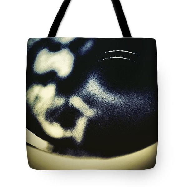 Jesus Christ In A Cup Of Coffee Tote Bag by Jason Michael Roust