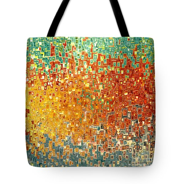 Jesus Christ Seed Of Woman Tote Bag by Mark Lawrence