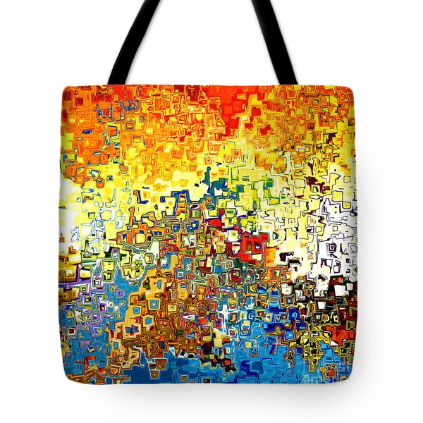 Jesus Christ The Elect Of God Tote Bag by Mark Lawrence