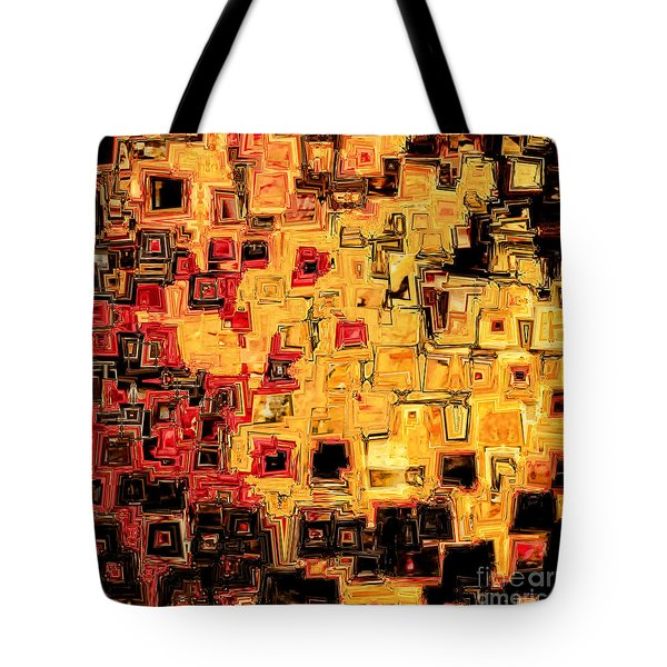 Jesus Christ The God Blessed Tote Bag by Mark Lawrence