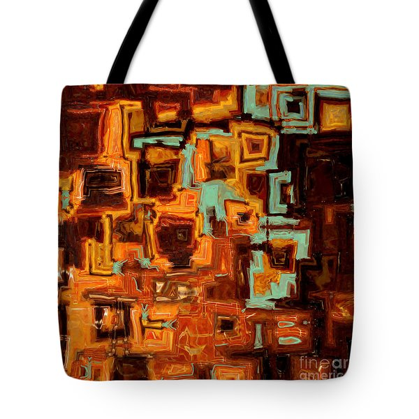 Jesus Christ The Son Of David Tote Bag by Mark Lawrence