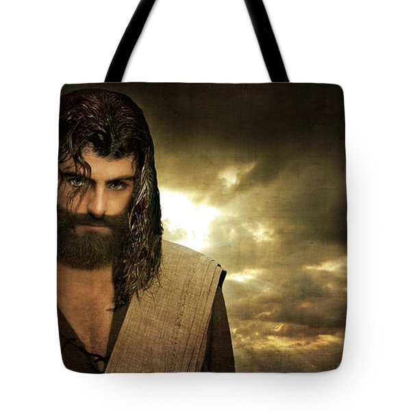 Jesus Christ- Will You Hear Me Shout Come Up Tote Bag