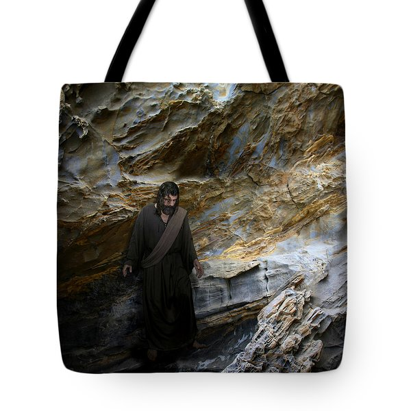 Jesus Christ- You Are My Hiding Place And My Shield Tote Bag