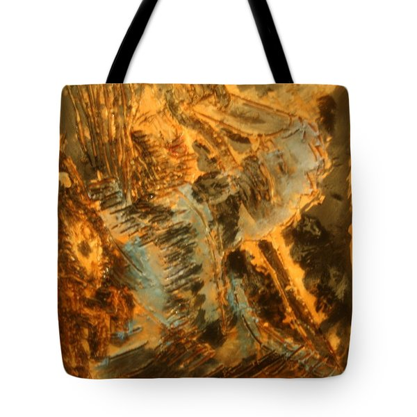 Jesus Good Shepherd - Tile Tote Bag by Gloria Ssali