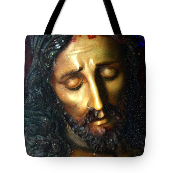 Jesus Tote Bag by Gregory Dyer