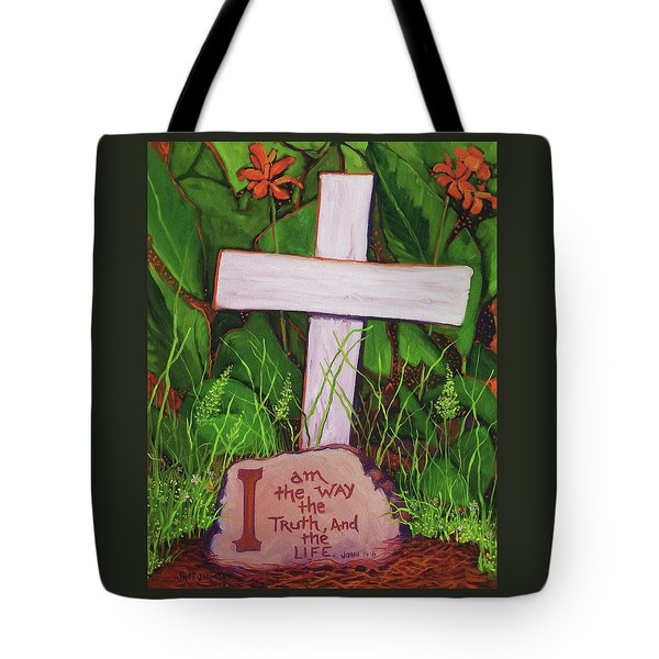 Garden Wisdom, The Way Tote Bag