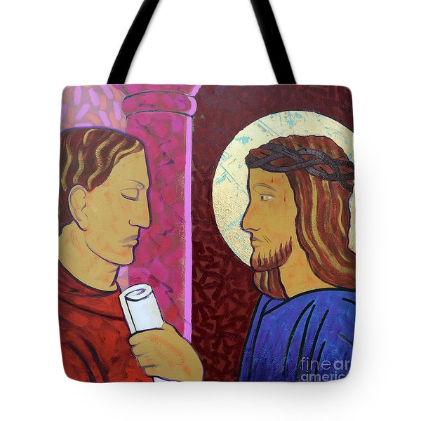 Jesus Is Condemned Tote Bag