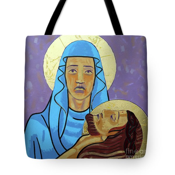 Jesus Is Taken Down From The Cross Tote Bag