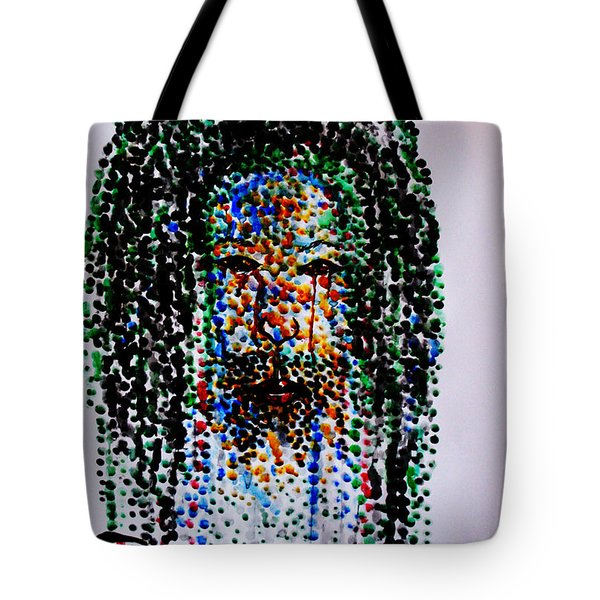 Jesus Lion Of Judah Tote Bag by Gloria Ssali