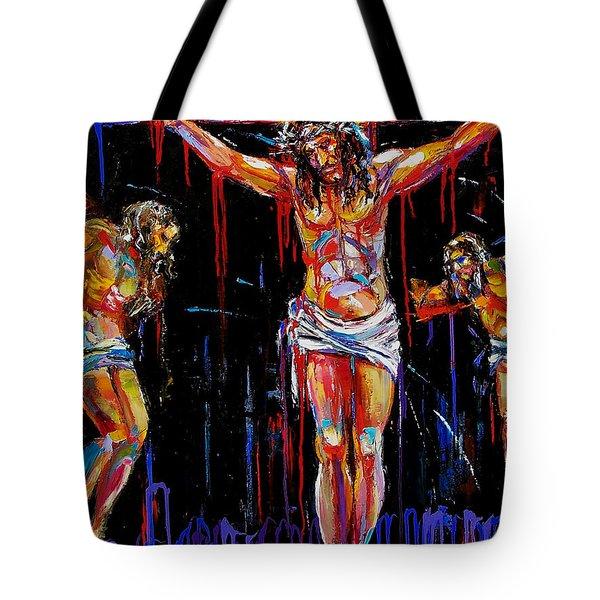 Jesus Of Nazareth Tote Bag by Debra Hurd