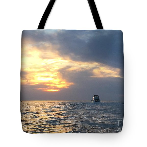 Watching Over The Inlet Tote Bag