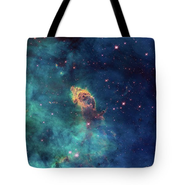 Tote Bag featuring the photograph Jet In Carina by Marco Oliveira