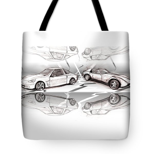 Jet Mikes Cars Tote Bag by John Jr Gholson