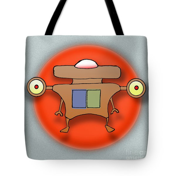 Jet Paq Tote Bag