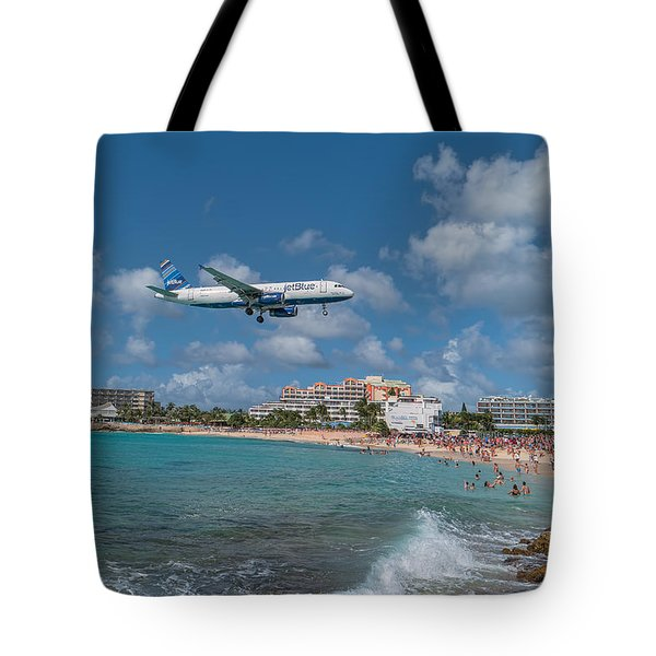 jetBlue at St. Maarten Tote Bag
