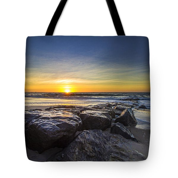 Jetty Four Sunrise Tote Bag