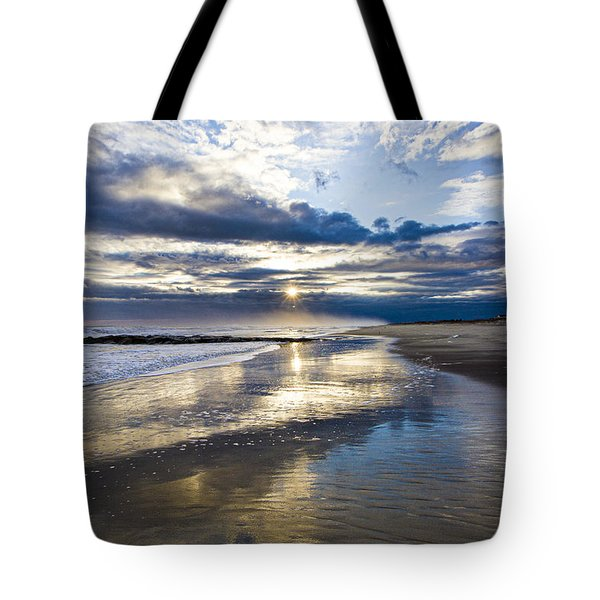 Jetty Four Sunset Tote Bag