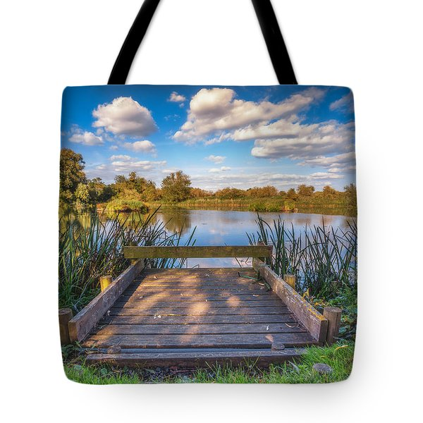 Tote Bag featuring the photograph Jetty by James Billings