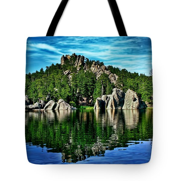 Jewel Of The Black Hills Tote Bag