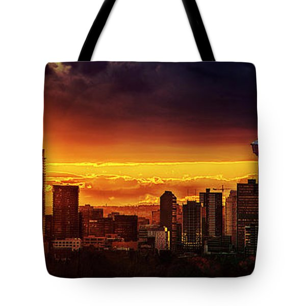 Jewel Of The Foothills Tote Bag