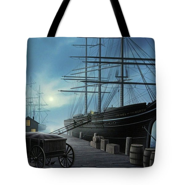 Jewel Of The North Tote Bag