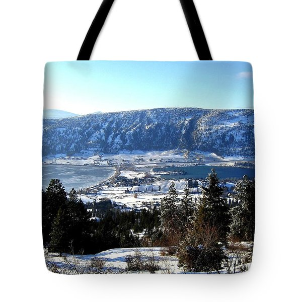 Jewel Of The Okanagan Tote Bag