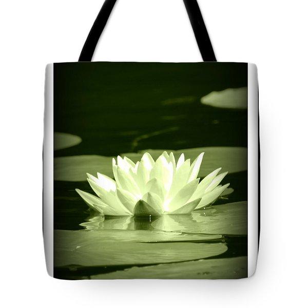 Jewel Of The Pond Tote Bag