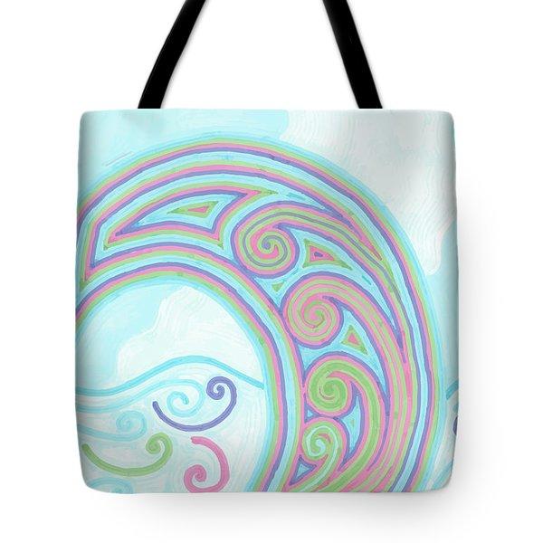 Jewel Sea Tote Bag by Jill Lenzmeier