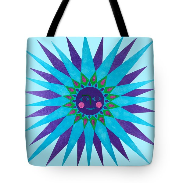 Jeweled Sun Tote Bag
