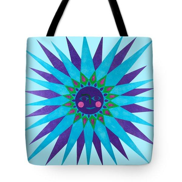 Jeweled Sun Tote Bag