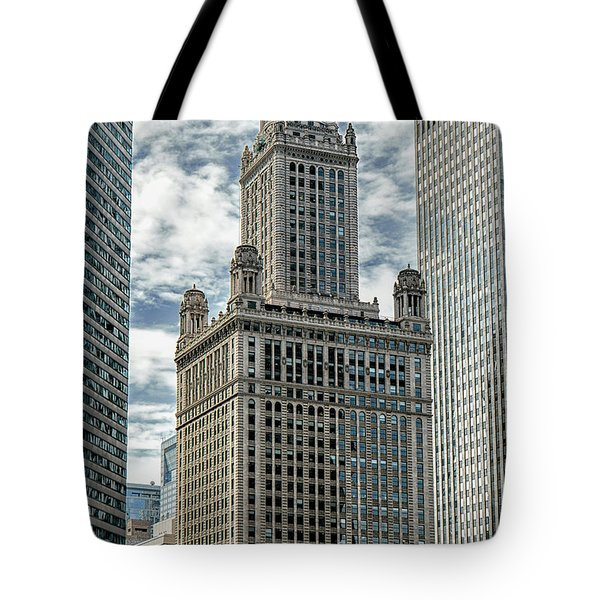 Jewelers Building Chicago Tote Bag